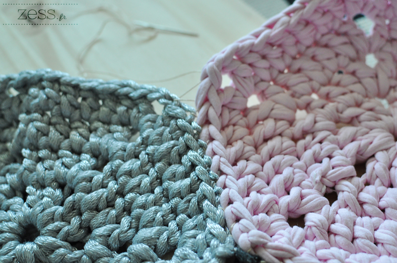 couture tapis crochet