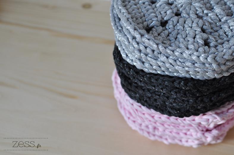 hexagone rug crochet
