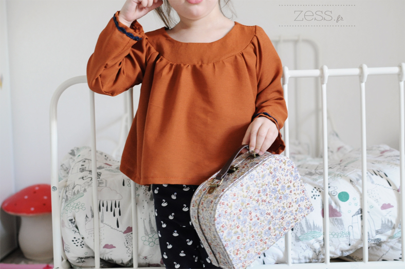 blouse diy kid