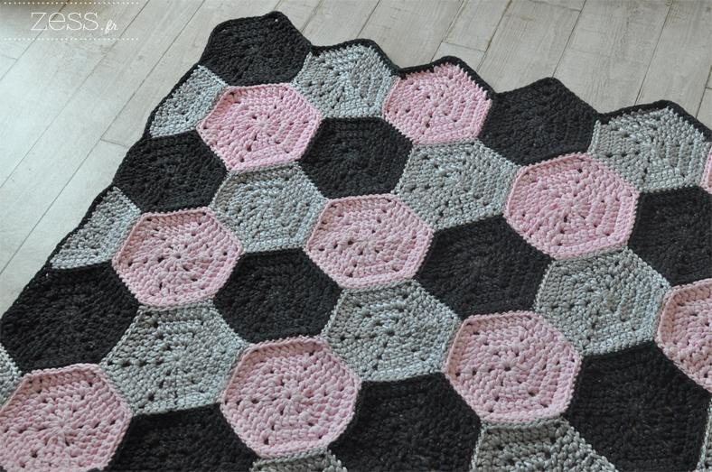 tuto DIY tapis au crochet facile