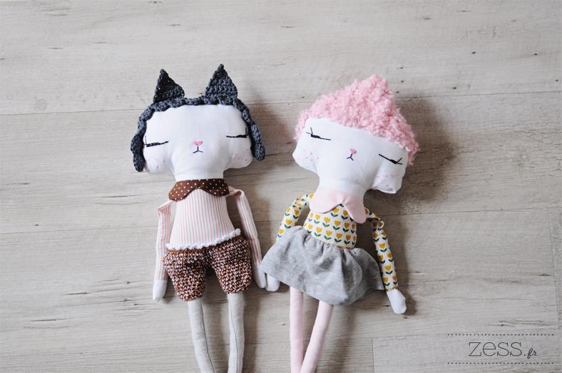 poupée doudou couture crochet