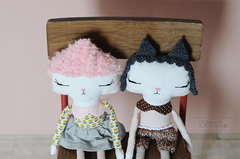 poupée handmade blog maman enfant