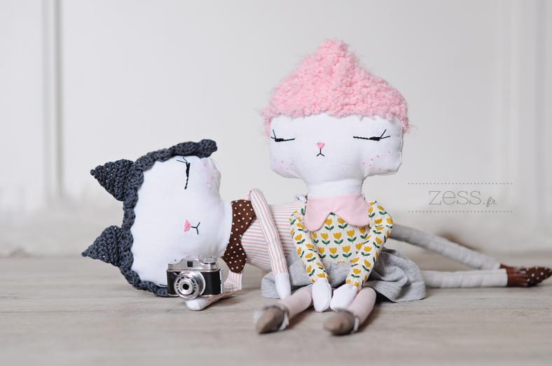 poupée fait main crochet couture diy