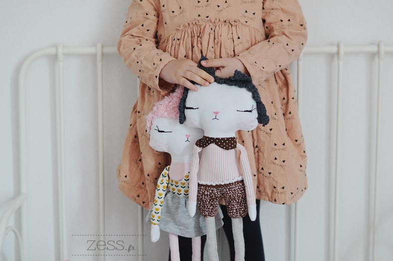 poupées homemade couture blog diy
