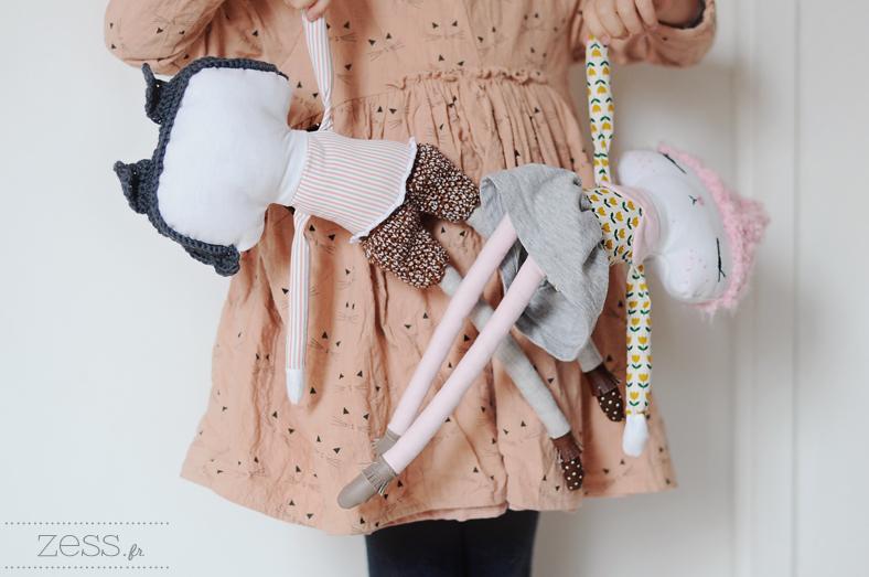 handmade doll sewing zess