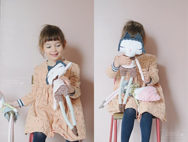poupée enfant couture homemade zess