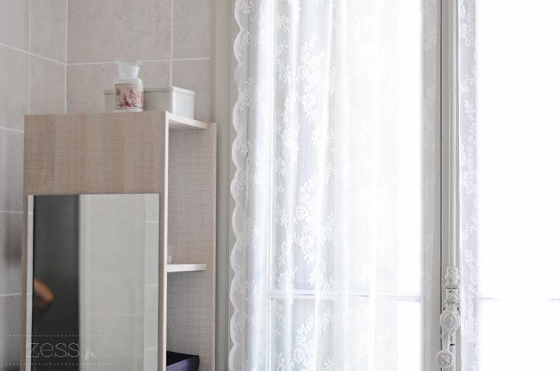 salle de bain rideau ikea