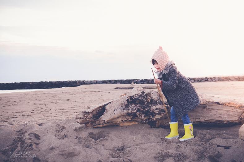 la mer, l'hiver et le beguin