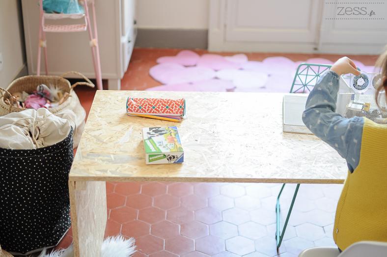 desk kid DIY