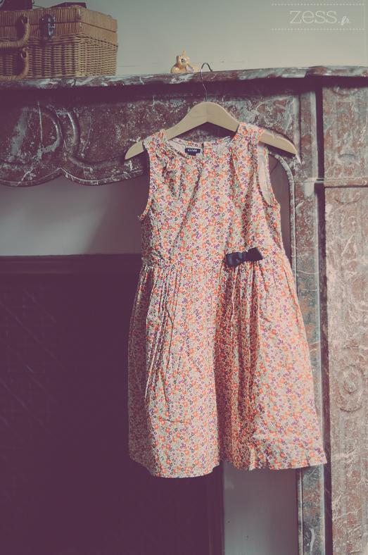 robe fleurie retro kiabi