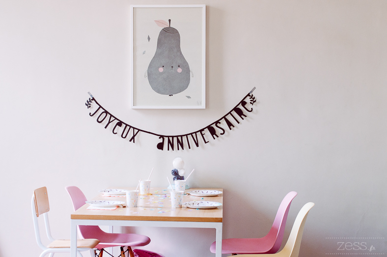 sweet table birthday kid
