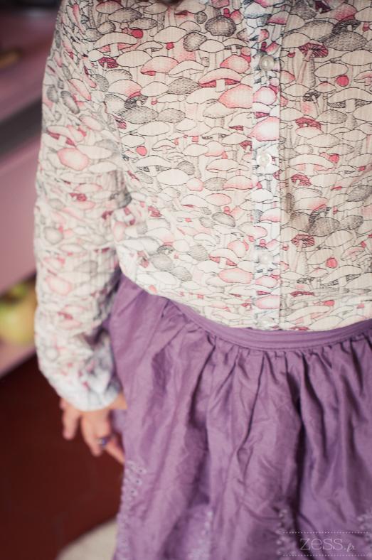 chemise champignon laredoute