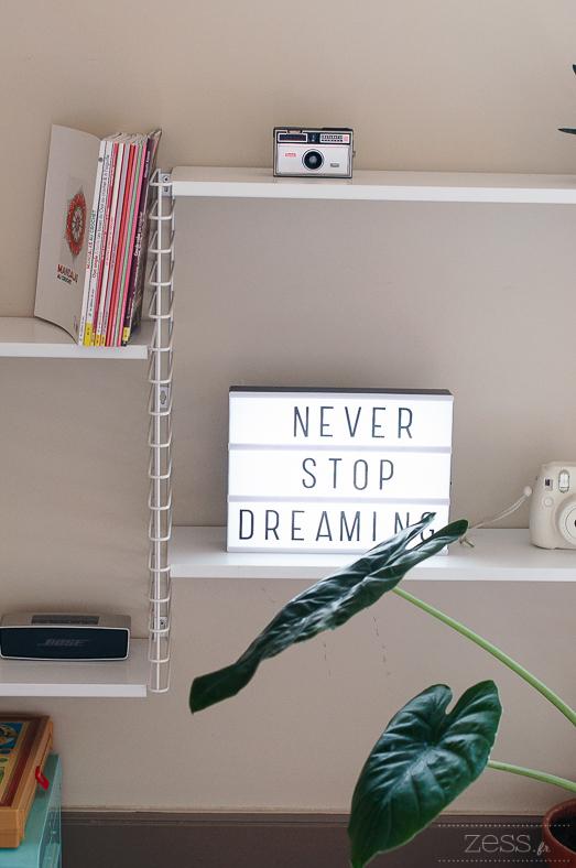 shelves lightbox