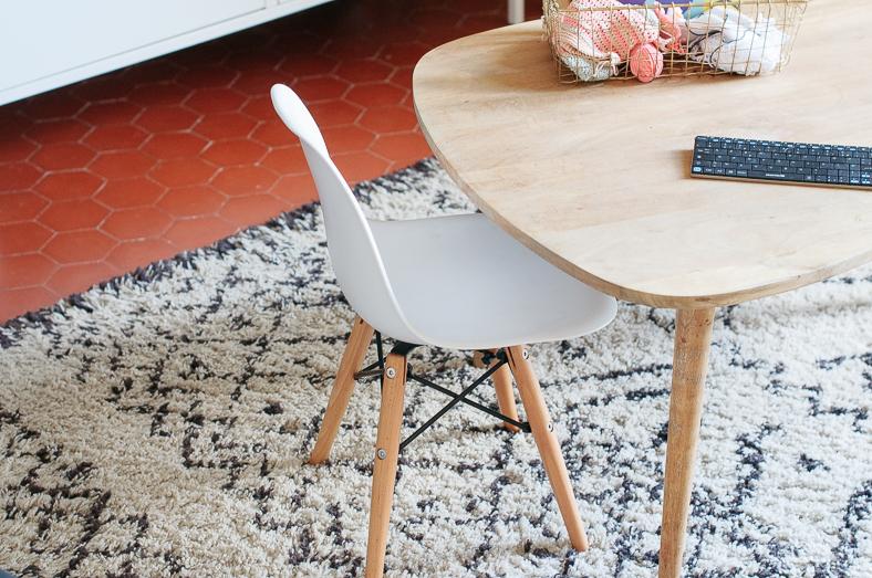 mini eames tapis berbère decor