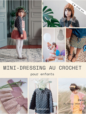 mini dressing au crochet zess