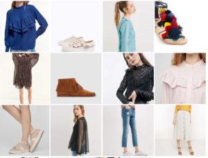 selection shopping mode femme