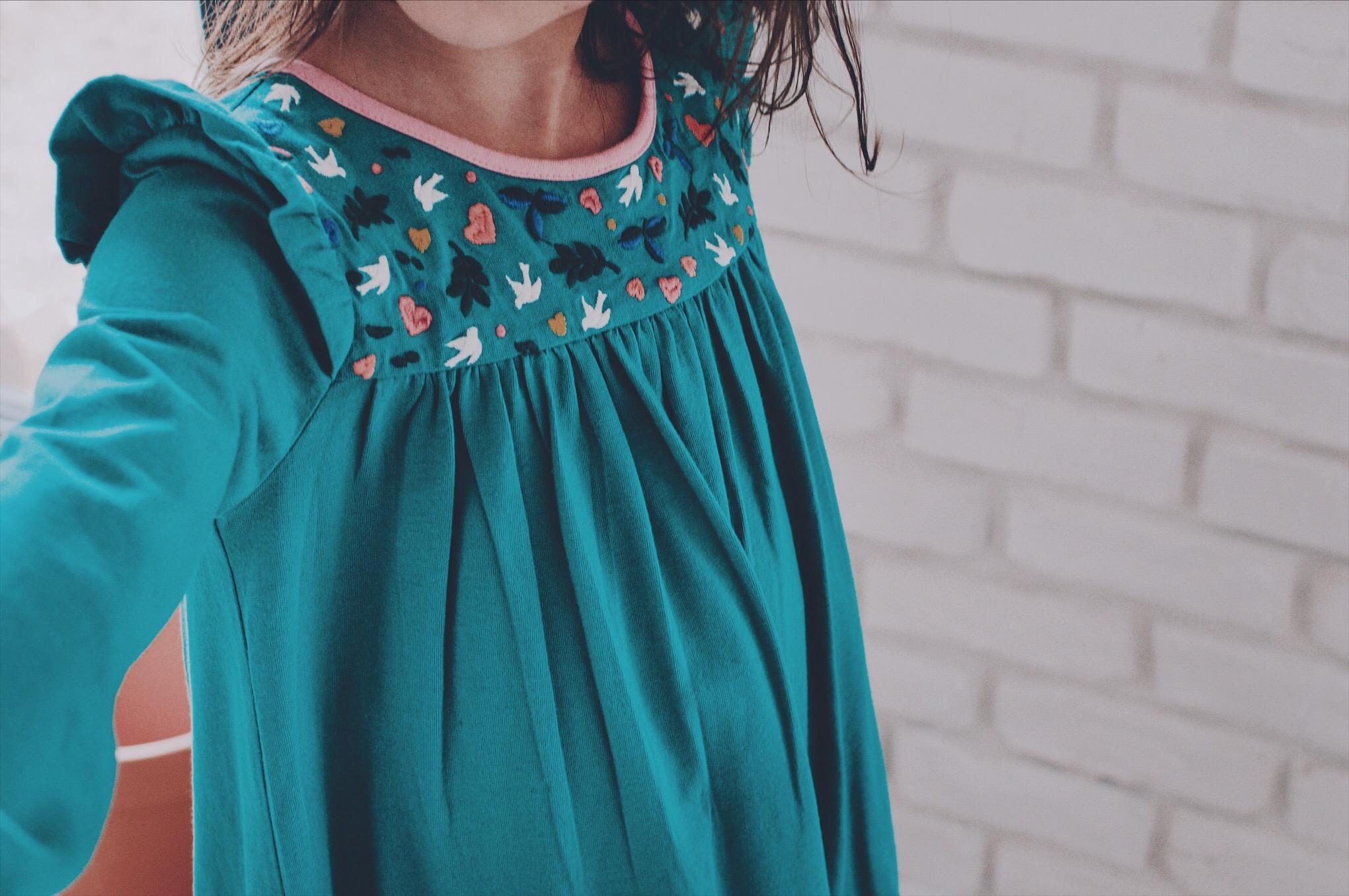 robe  rodée mini boden