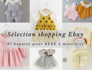 Sélection shopping Ebay pour bébé
