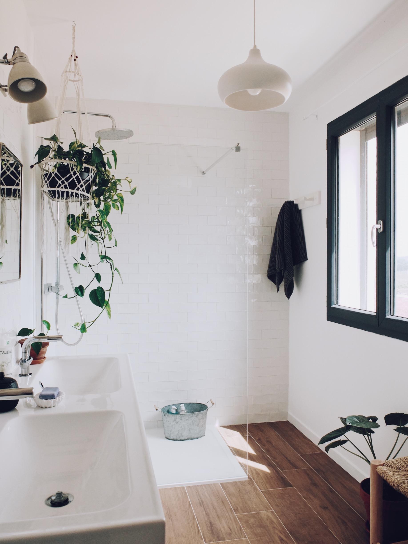 Cacher Trou Carrelage Salle De Bain construction maison : comment on a aménagé la salle de bain