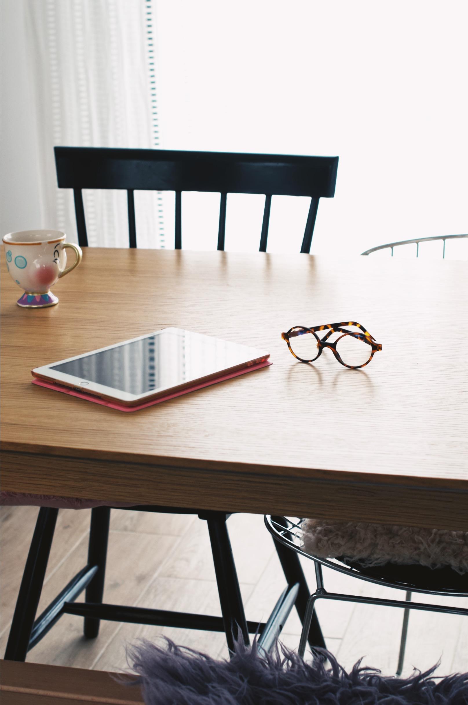 lunettes ki et là lumière bleue