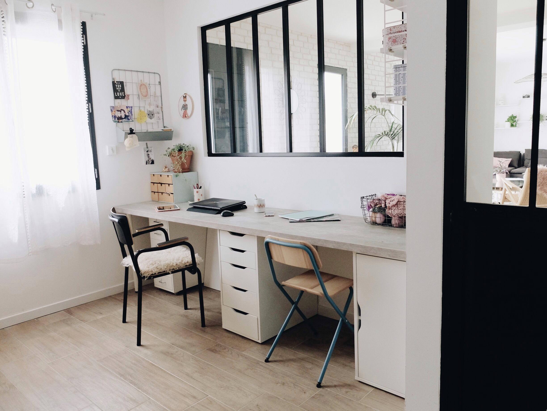 Cuisine Avec Verrière Sur Salon déco : la verrière et la porte atelier - zess.fr