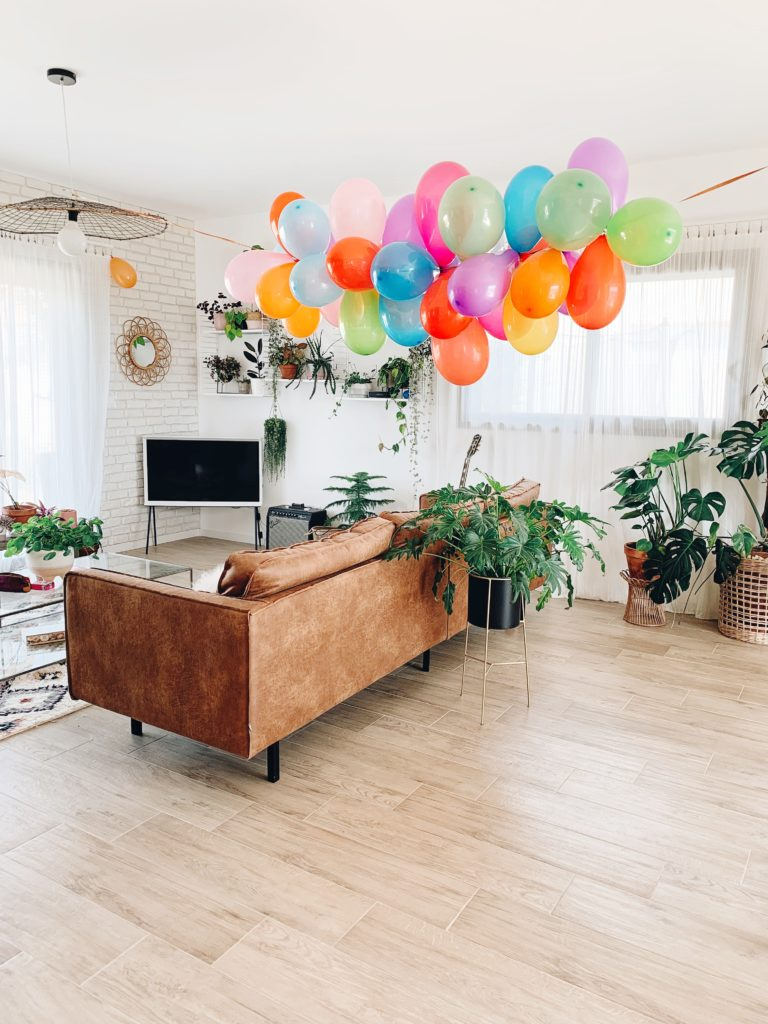 guirlande ballon anniversaire