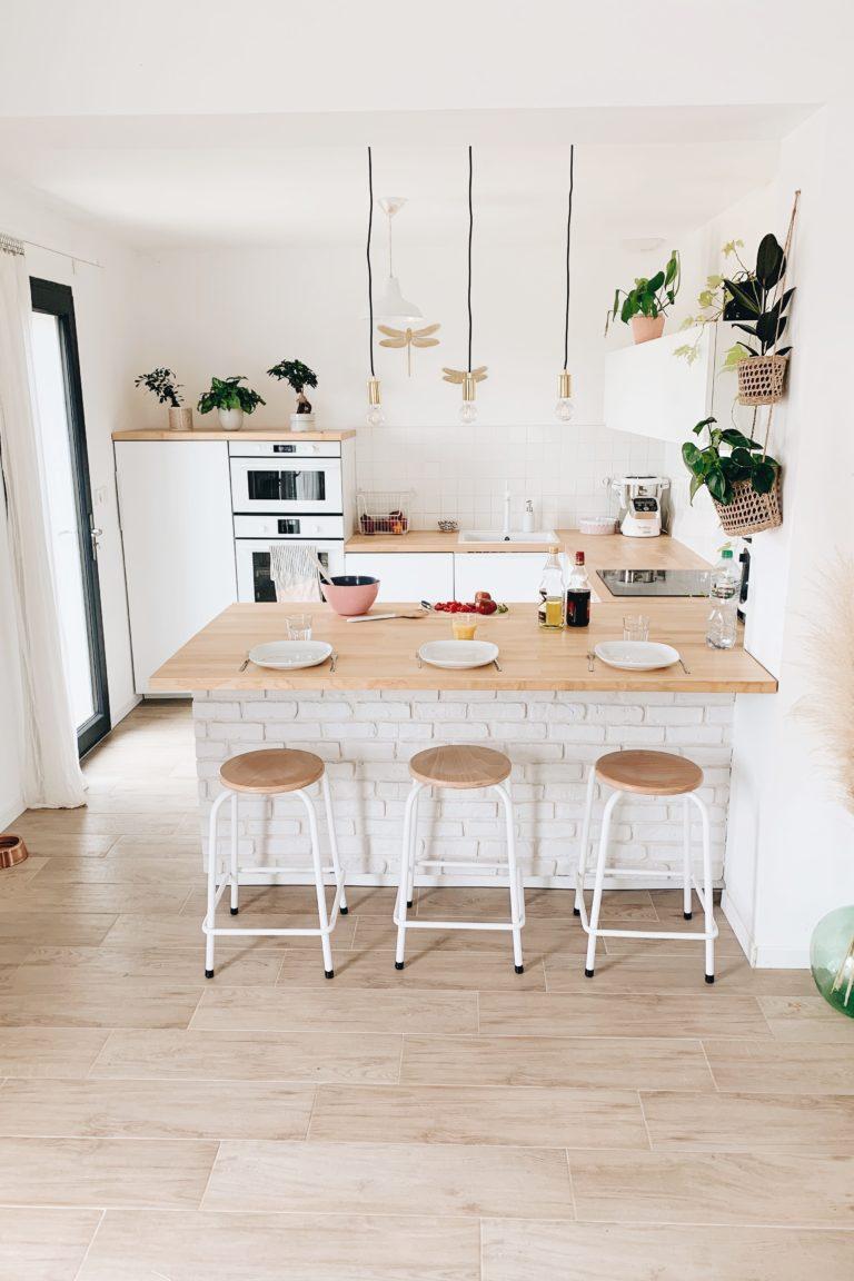 déco cuisine blanche