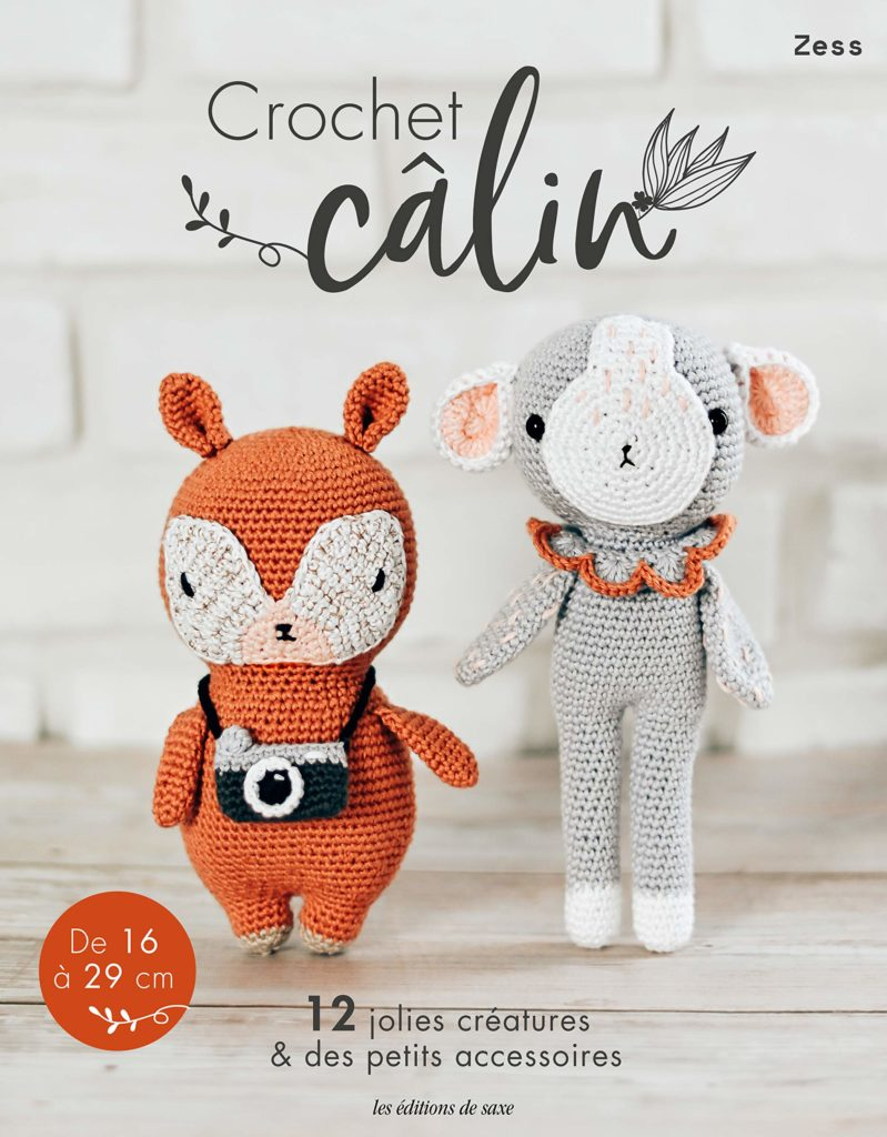 crochet calin de zess
